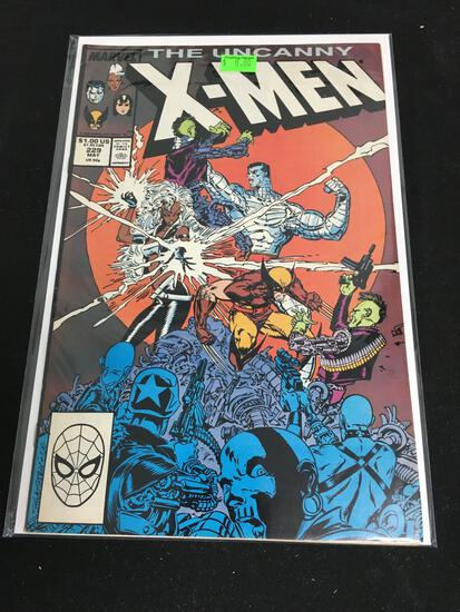 The Uncanny X-Men #229 Comic Book from Amazing Collection B