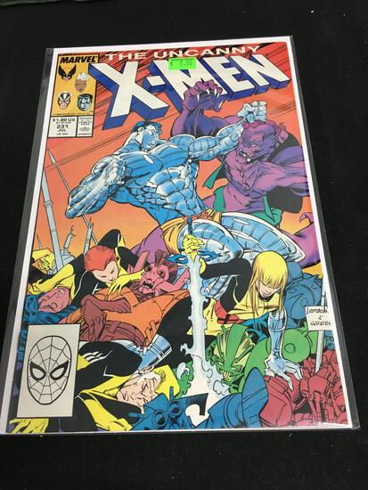 The Uncanny X-Men #231 Comic Book from Amazing Collection