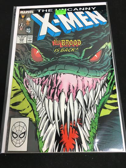 The Uncanny X-Men #232 Comic Book from Amazing Collection