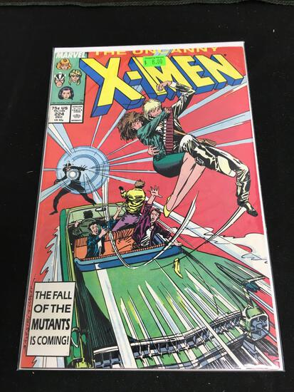 The Uncanny X-Men #224 Comic Book from Amazing Collection B