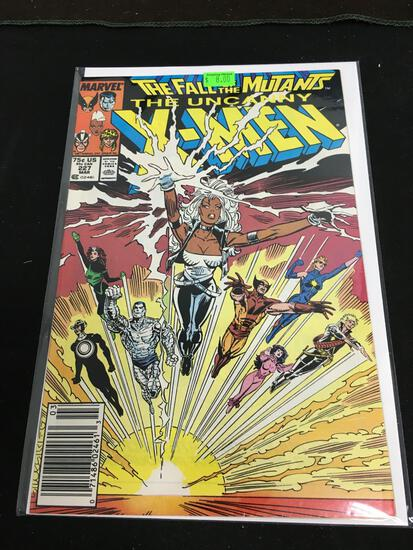 The Uncanny X-Men #227 Comic Book from Amazing Collection