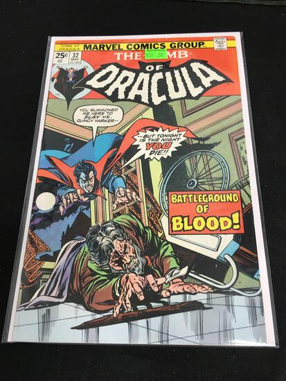 The Tomb of Dracula #32 Comic Book from Amazing Collection