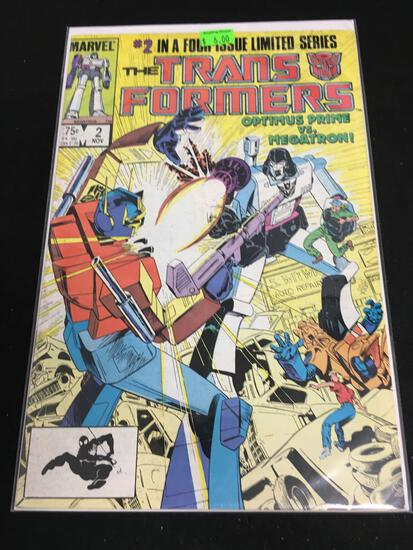 The Transformers #2 Comic Book from Amazing Collection