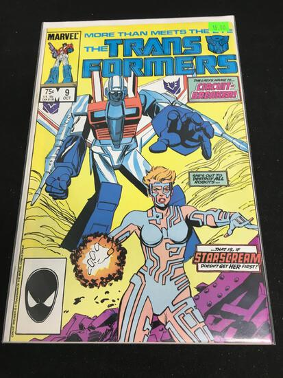 The Transformers #9 Comic Book from Amazing Collection
