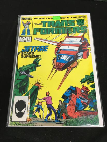 The Transformers #11 Comic Book from Amazing Collection