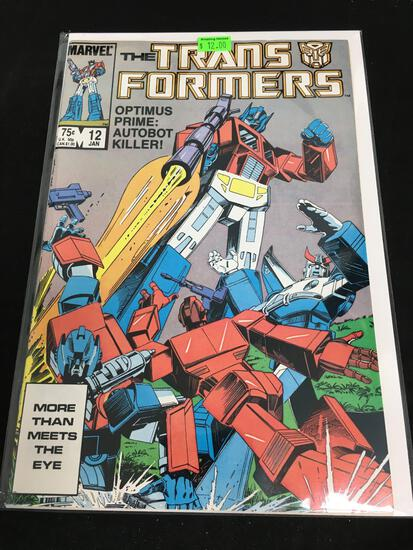 The Transformers #12 Comic Book from Amazing Collection