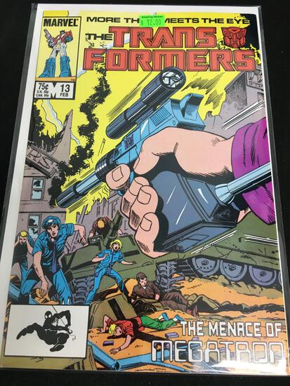 The Transformers #13 Comic Book from Amazing Collection