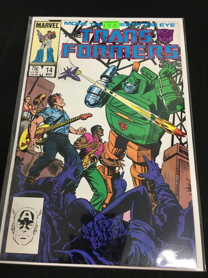 The Transformers #14 Comic Book from Amazing Collection