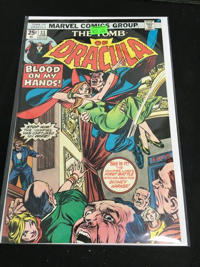 The Tomb of Dracula #33 Comic Book from Amazing Collection