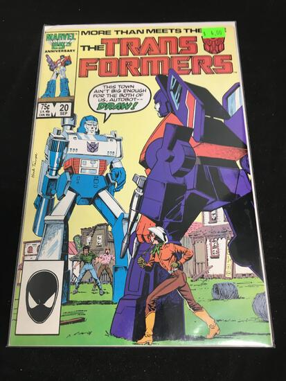 The Transformers #20 Comic Book from Amazing Collection