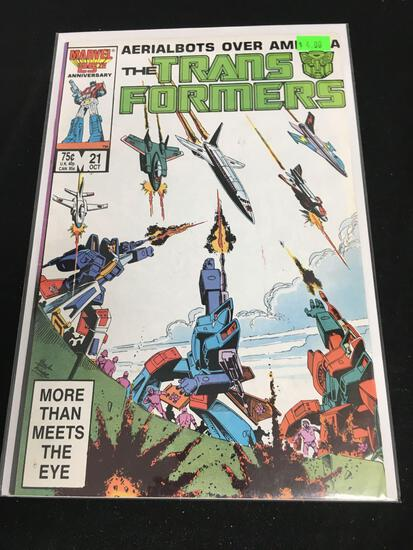 The Transformers #21 Comic Book from Amazing Collection