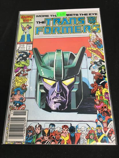 The Transformers #22 Comic Book from Amazing Collection