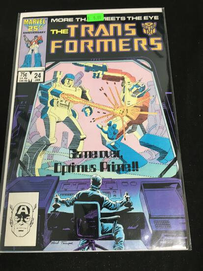 The Transformers #24 Comic Book from Amazing Collection