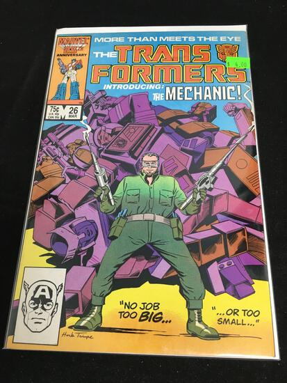The Transformers #26 Comic Book from Amazing Collection