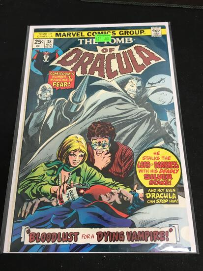 The Tomb of Dracula #38 Comic Book from Amazing Collection