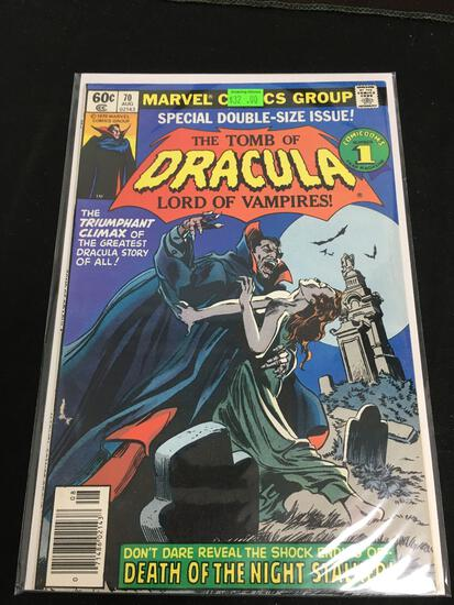 The Tomb of Dracula #70 Comic Book from Amazing Collection