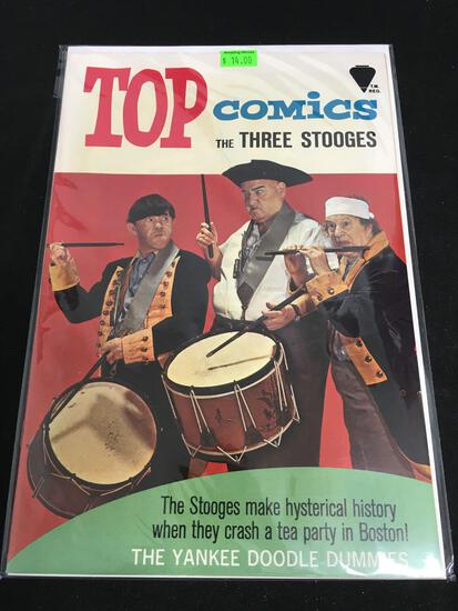Top Comics The Three Stooges #2 Comic Book from Amazing Collection