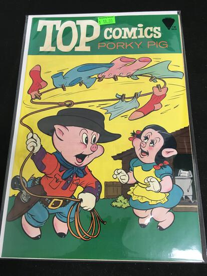 Top Comics Porky Pig #2 Comic Book from Amazing Collection