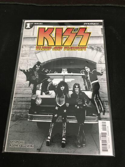 Kiss Blood and Stardust #1 Comic Book from Amazing Collection