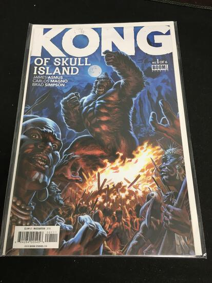 Kong of Skull Island #1 Comic Book from Amazing Collection