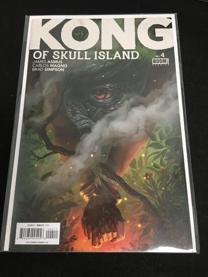 Kong of Skull Island #4 Comic Book from Amazing Collection