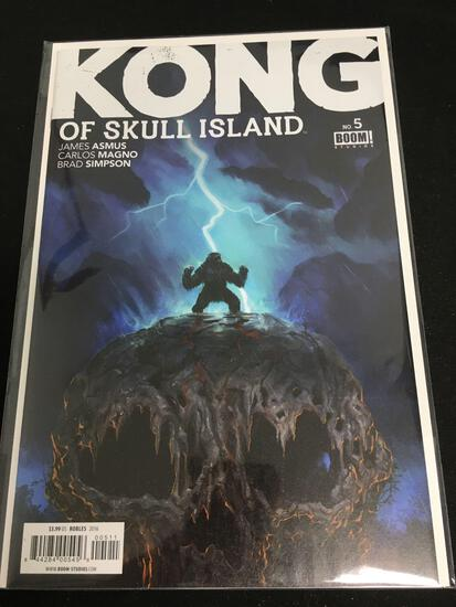 Kong of Skull Island #5 Comic Book from Amazing Collection