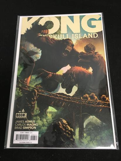 Kong of Skull Island #6 Comic Book from Amazing Collection