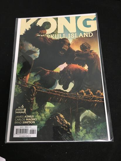 Kong of Skull Island #6 Comic Book from Amazing Collection B