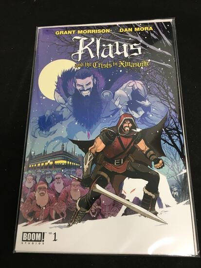 Klaus And The Crisis in Xmasville #1 Comic Book from Amazing Collection