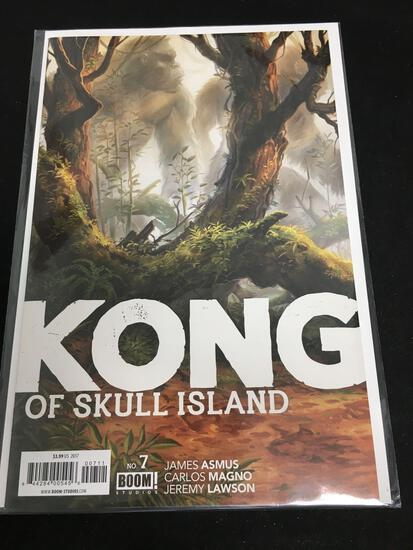 Kong of Skull Island #7 Comic Book from Amazing Collection