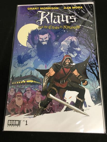 Klaus And The Crisis in Xmasville #1 Comic Book from Amazing Collection B
