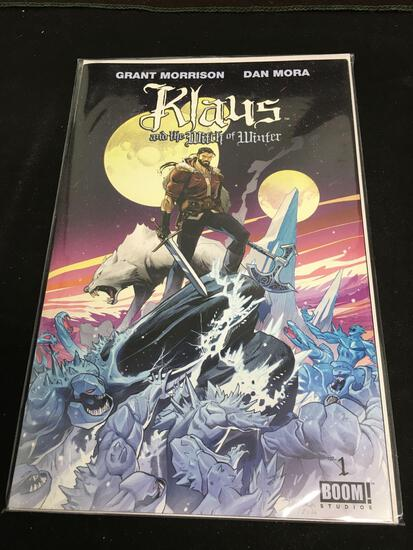 Klaus And The Witch of Winter #1 Comic Book from Amazing Collection
