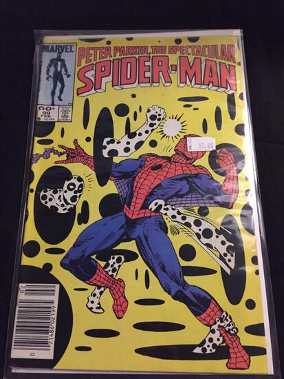 Peter Parker, The Spectacular Spider-Man #99 Comic Book from Amazing Collection