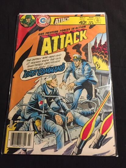 Our Fighting Forces in Action #21 Comic Book from Amazing Collection