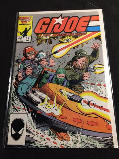 GI Joe A Real American Hero #47 Comic Book from Amazing Collection