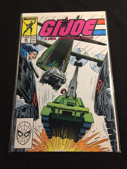 GI Joe A Real American Hero #68 Comic Book from Amazing Collection