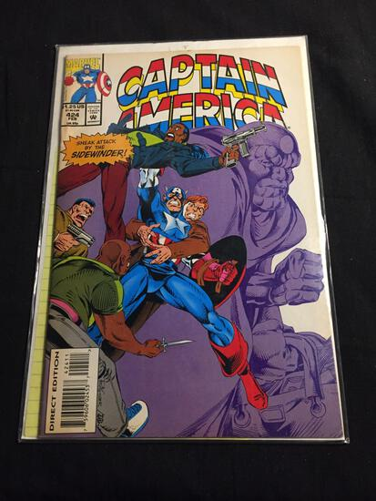 Captain America #424 Comic Book from Amazing Collection