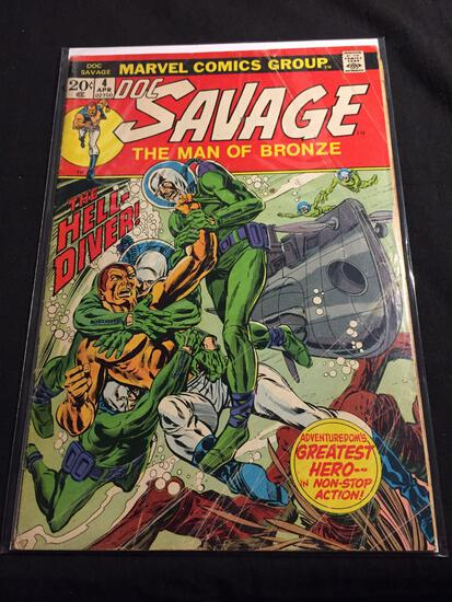 Doc Savage The Man of Bronze #4 Comic Book from Amazing Collection