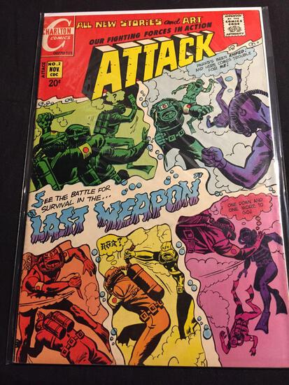 Our Fighting Forces in Action #2 Comic Book from Amazing Collection