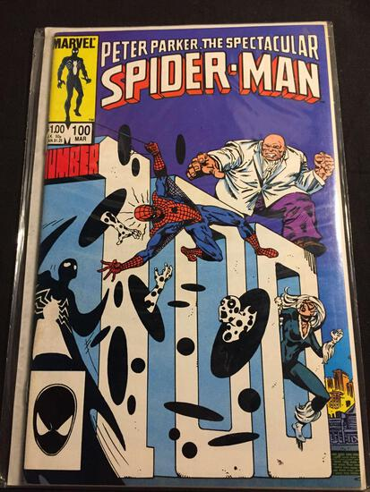 Peter Parker, The Spectacular Spider-Man #100 Comic Book from Amazing Collection
