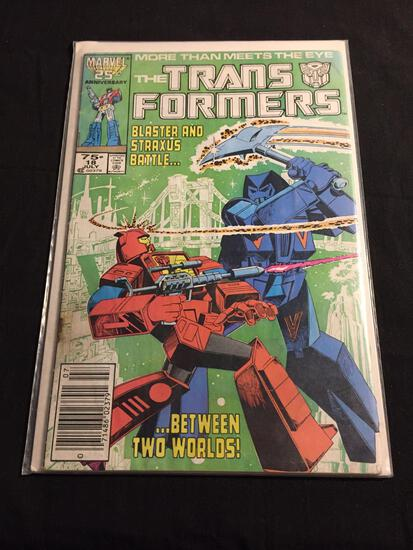 The Transformers #18 Comic Book from Amazing Collection