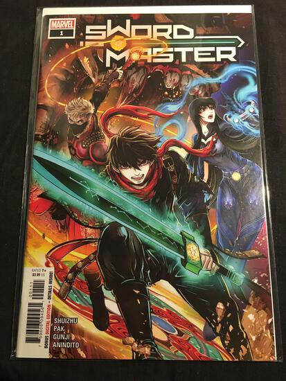 Sword Master #1 Comic Book from Amazing Collection B