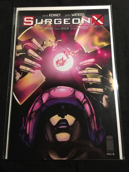 Surgeon X #5 Comic Book from Amazing Collection
