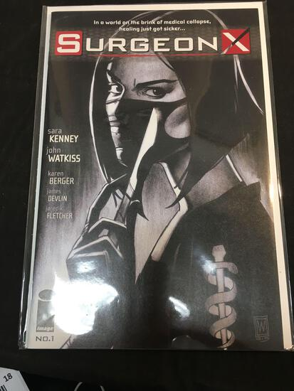 Surgeon X #1 Comic Book from Amazing Collection