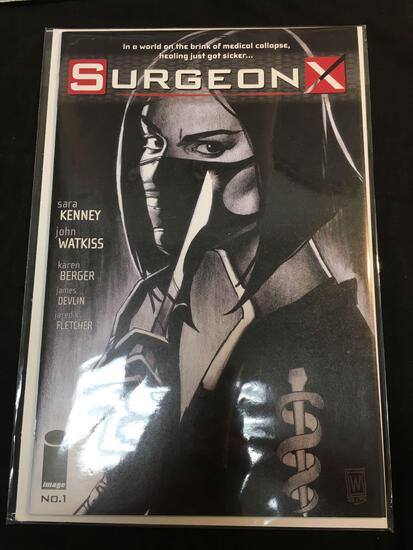 Surgeon X #1 Comic Book from Amazing Collection B