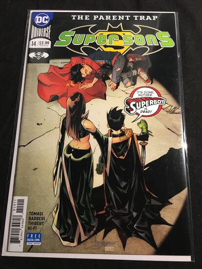 Super Sons #14 Comic Book from Amazing Collection