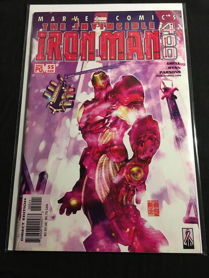 The Invincible Iron Man #55 Comic Book from Amazing Collection