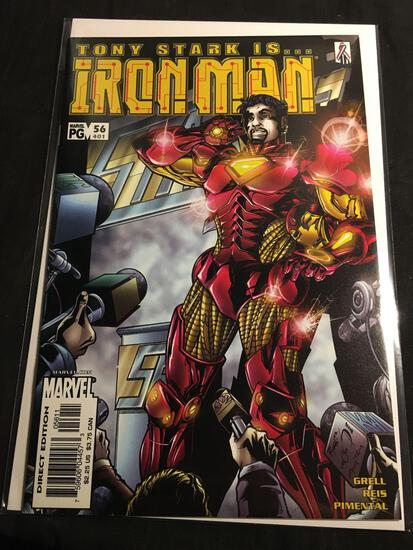 The Invincible Iron Man #56 Comic Book from Amazing Collection