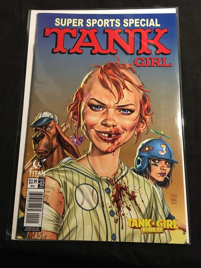 Tank Girl Super Sports Special #2 Comic Book from Amazing Collection