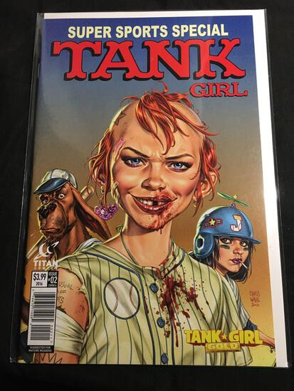 Tank Girl Super Sports Special #2 Comic Book from Amazing Collection B
